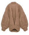 Camel Loon Up Cardigan