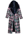 Fur Pink Chains Coat