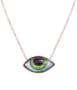 Rose Gold Grand Vert Necklace  Lito NECKLACES