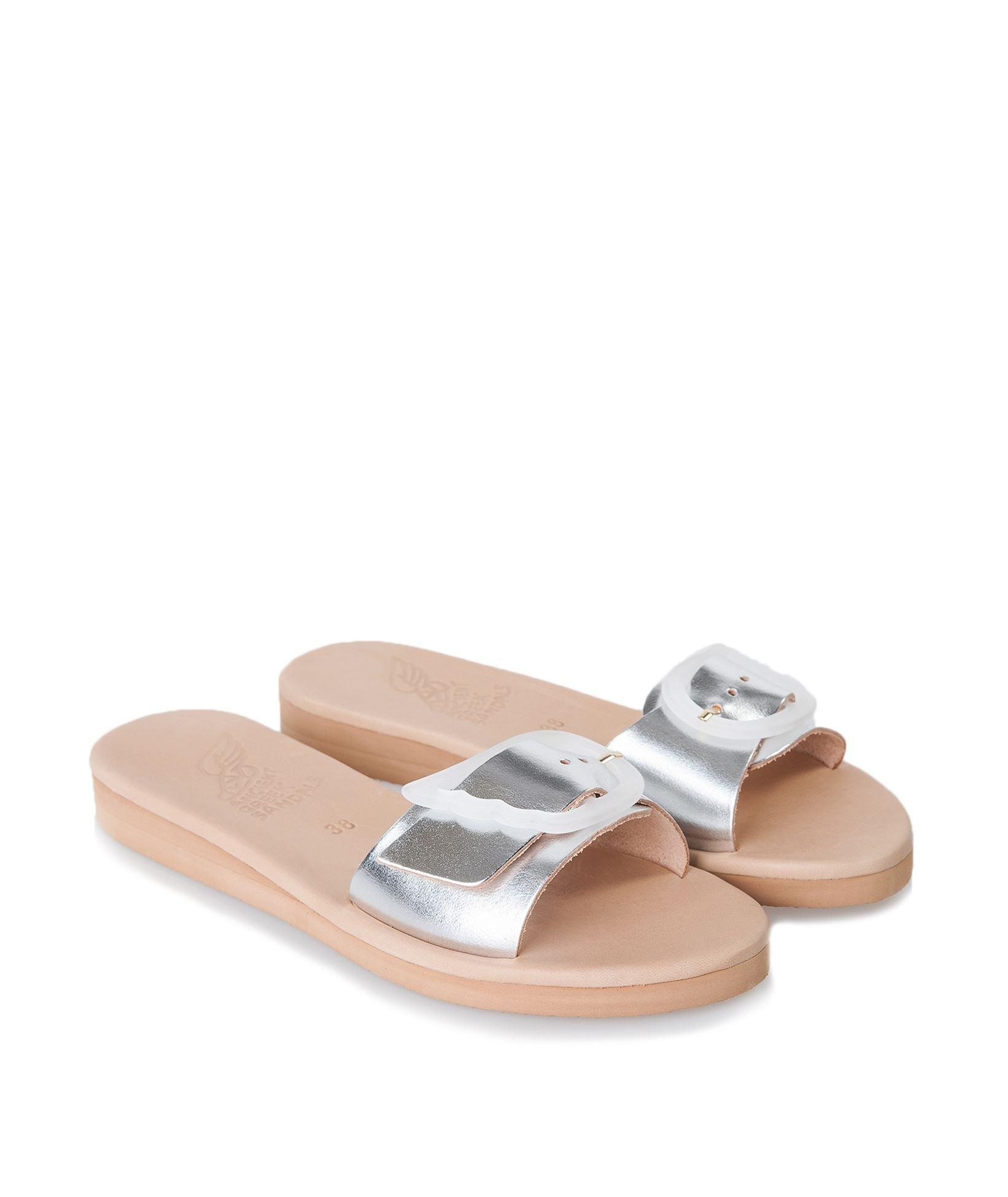 72f5d9bde Ancient Greek Sandals Silver Aglaia Sandals   Everyday Essentials ...