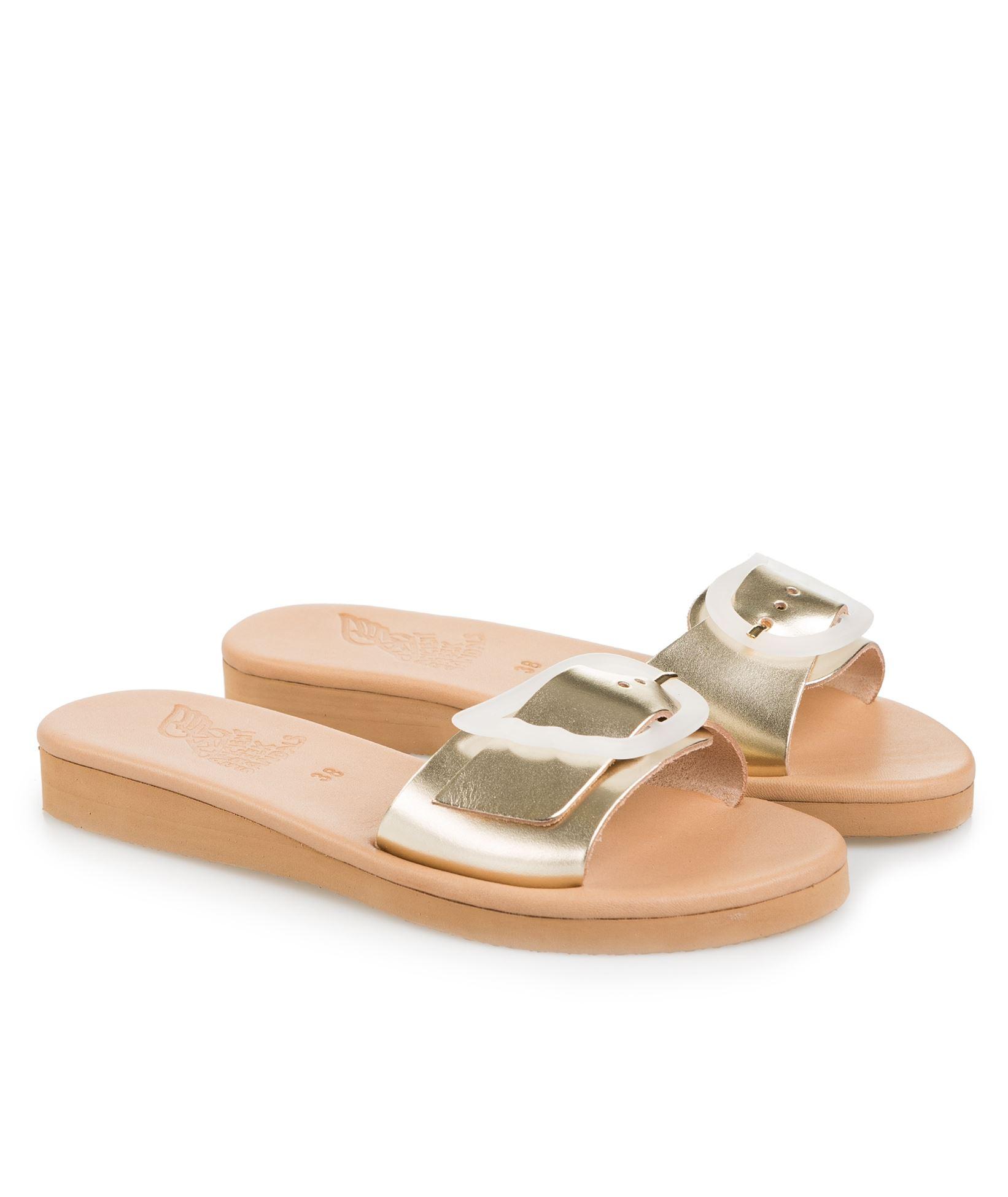 2266dc471 Ancient Greek Sandals Platinum Aglaia Sandals   Everyday Essentials ...