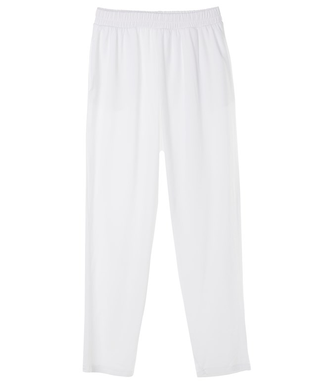 White Tapered Pants Ioanna Kourbela PANTS/SHORTS