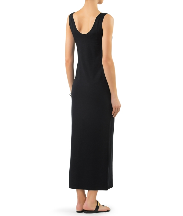 Black Vital Long Dress
