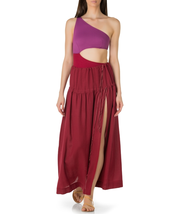 Cherry Cotton Tinos Skirt