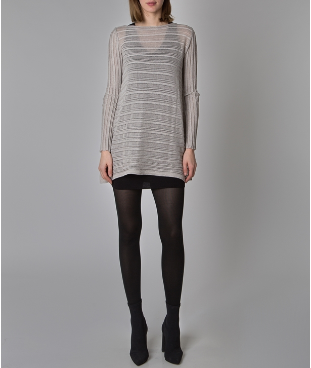 Grey Archetypes Mini Dress