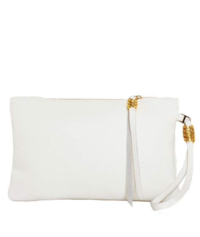 Jasmin Gold Slim Medium Pochette Callista Crafts CLUTCH BAGS
