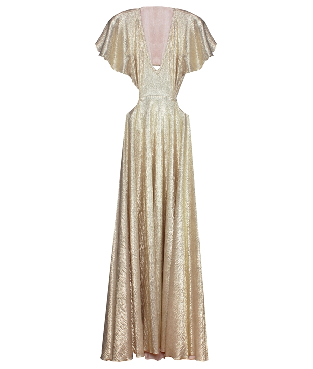 Gold Margot Dress