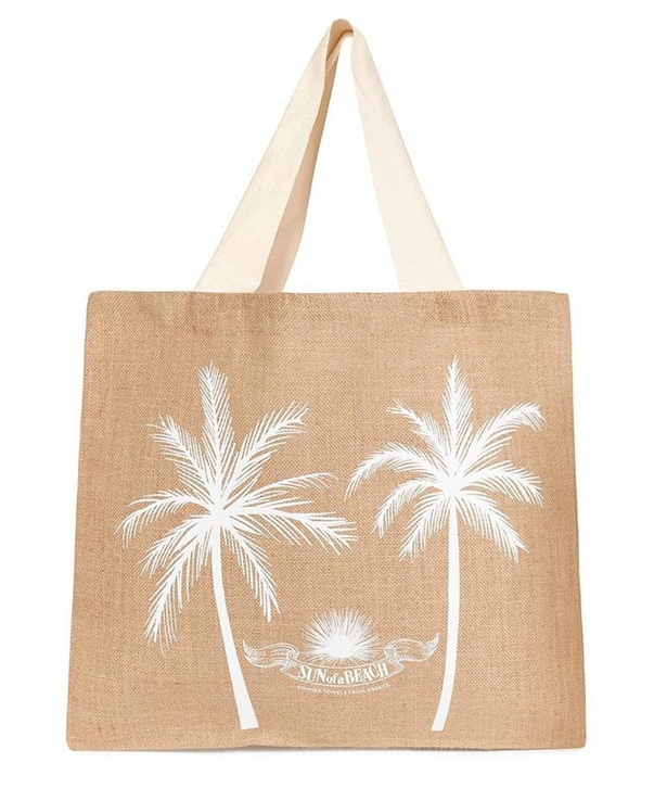 Black Palm Springs Feather Beach Towel