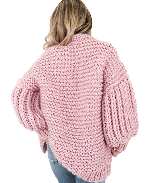 Pink Loon Up Cardigan