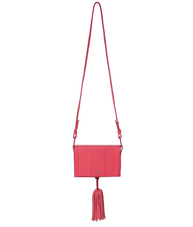 Bougainvillea Leather Attiki Medium Bag