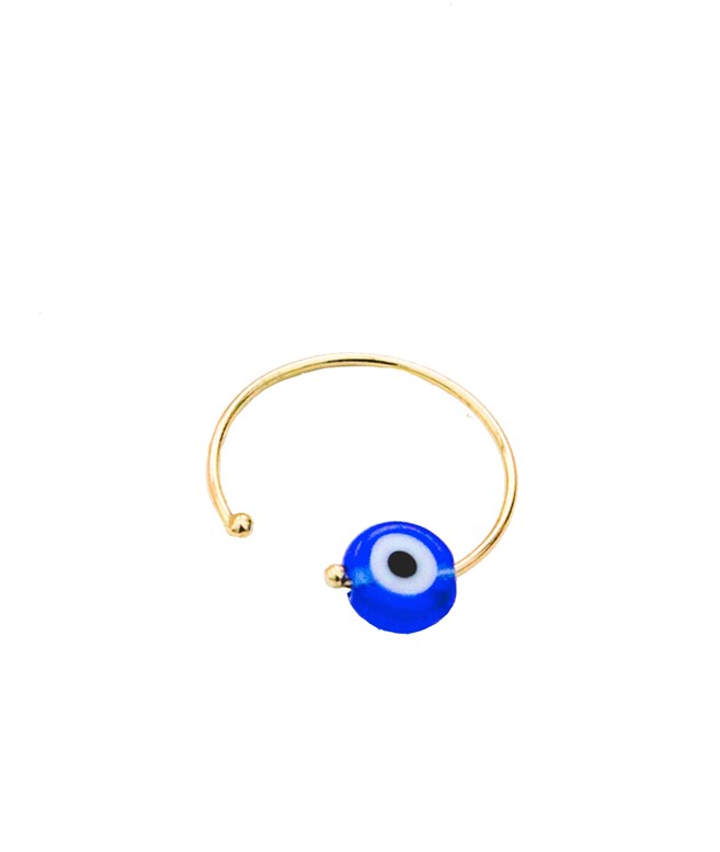 Gold Eye Small Earring The Eye Ring ΣΚΟΥΛΑΡΙΚΙΑ