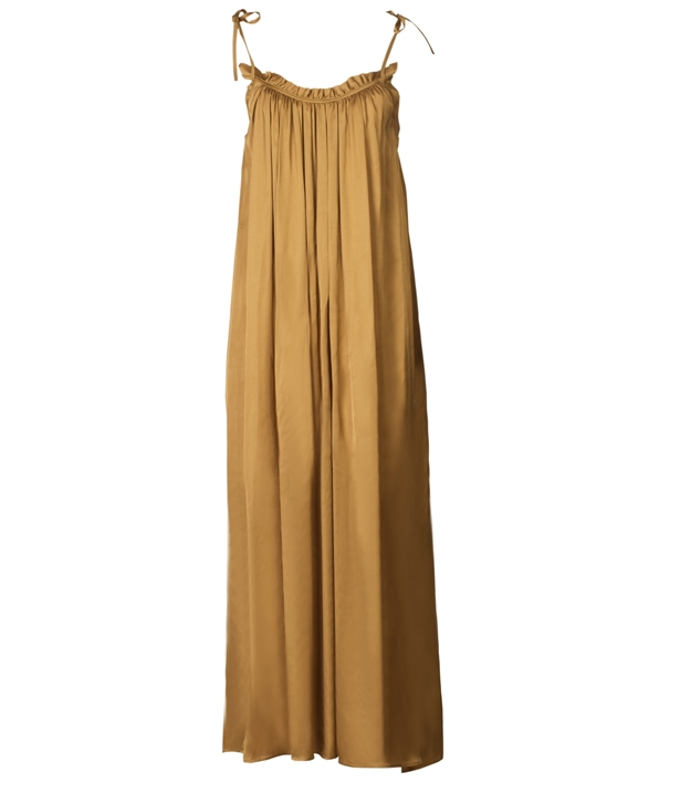 Gold Liz Boho Dress