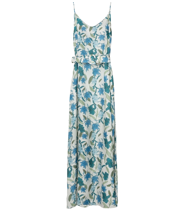 Blue Silk Amorgos Dress