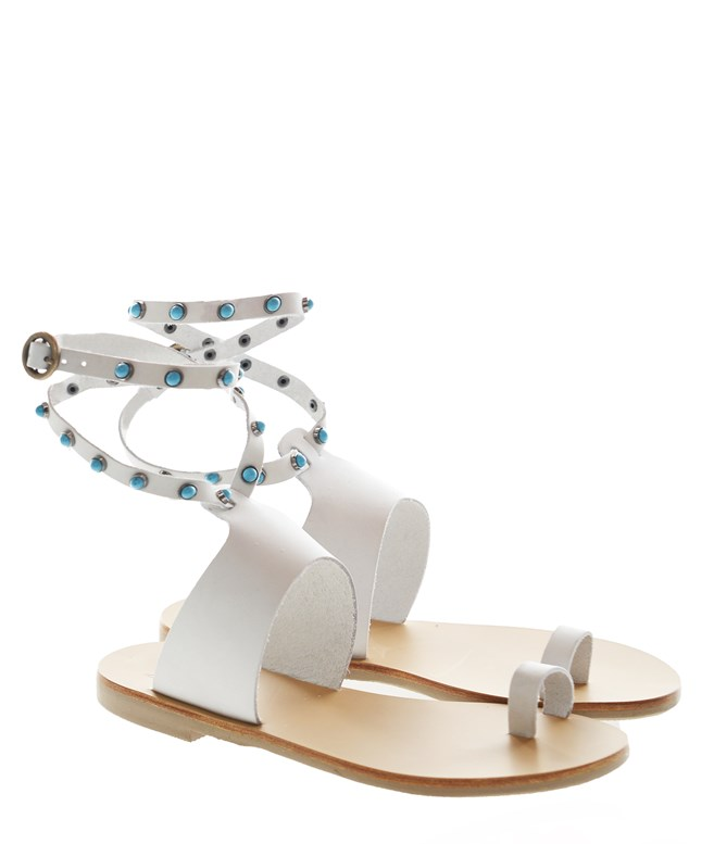 Bianco Salvia New Sandals Most Chic FLAT SANDALS