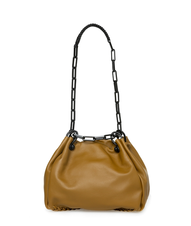 Walnut Nero Mini Hobo