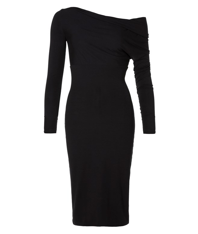 Black Functional Comfort Bodycon Dress Ioanna Kourbela SALE
