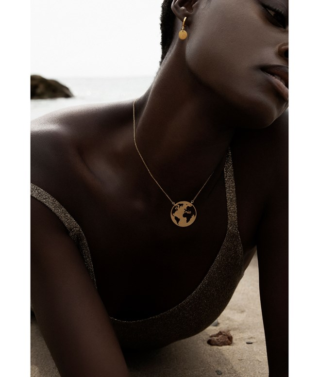Cosmos Gold-plated Silver Necklace Antonia Karra NECKLACES