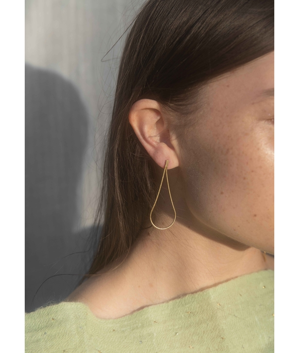 Gold-plated Silver Playland Earrings Medium