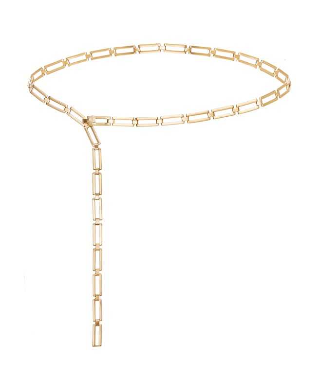 Gold Chain Clementine Belt Stripes Of Luxury BELTS
