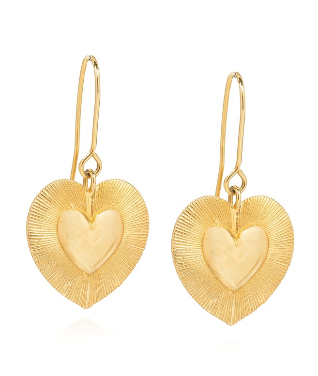 Pothos Gold-plated Silver Small Earrings Antonia Karra EARRINGS