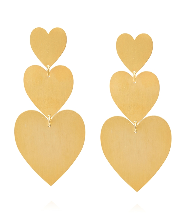 Amor Gold-plated Silver Earrings