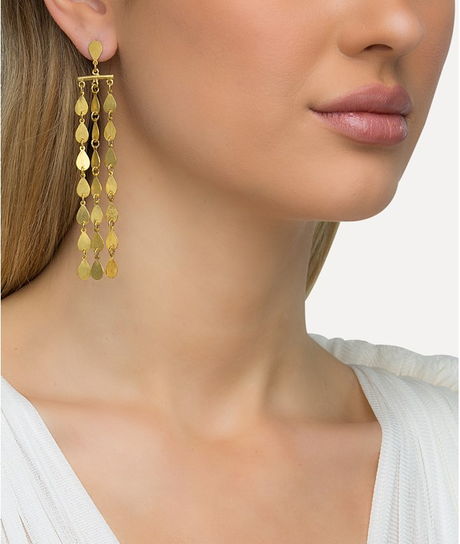Electra Gold-plated Silver Earrings Antonia Karra EARRINGS