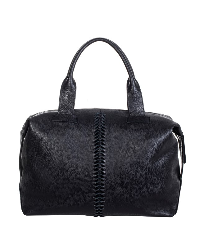 Black Leather Buggy Bag Park House ΤΣΑΝΤΕΣ ΤΟΤΕ