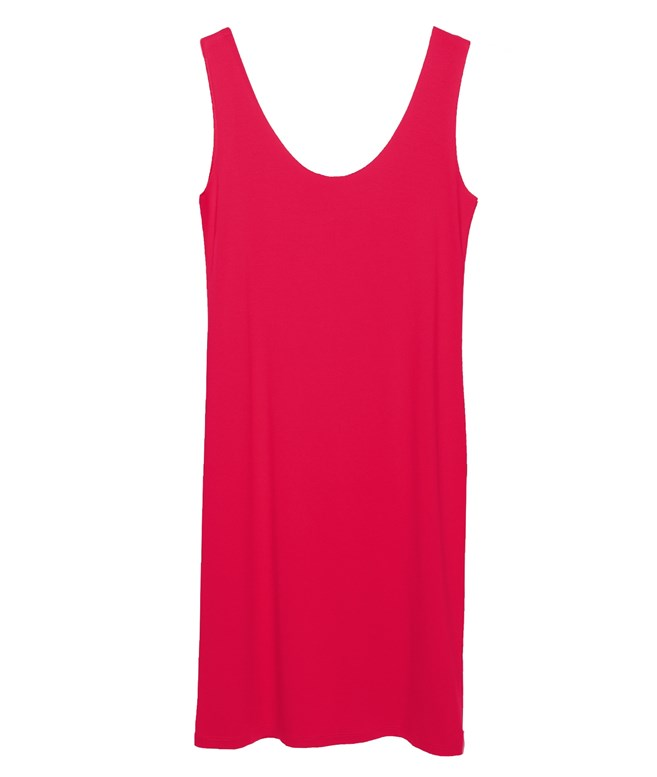 Pink Eco Vital Sleeveless Short Dress Ioanna Kourbela ΦΟΡΕΜΑΤΑ