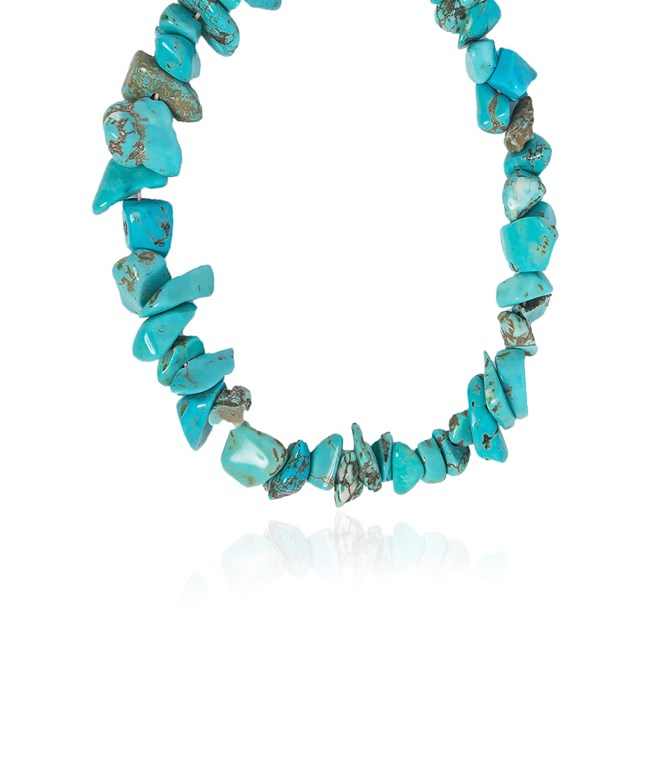 Pink Sands Necklace - Turquoise  Hermina Athens NEW